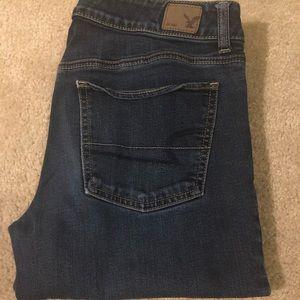 Straight leg American Eagle jeans